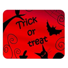 Trick or treat - Halloween landscape Double Sided Flano Blanket (Large)
