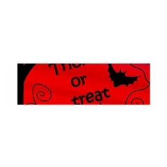 Trick or treat - Halloween landscape Satin Scarf (Oblong)