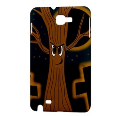Halloween - Cemetery evil tree Samsung Galaxy Note 1 Hardshell Case
