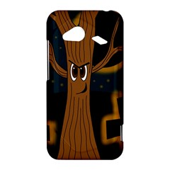 Halloween - Cemetery evil tree HTC Droid Incredible 4G LTE Hardshell Case