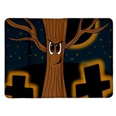 Halloween - Cemetery evil tree Kindle Fire (1st Gen) Flip Case