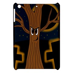 Halloween - Cemetery evil tree Apple iPad Mini Hardshell Case