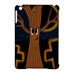 Halloween - Cemetery evil tree Apple iPad Mini Hardshell Case (Compatible with Smart Cover)