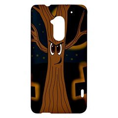 Halloween - Cemetery evil tree HTC One Max (T6) Hardshell Case