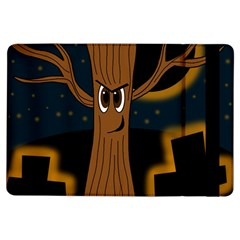 Halloween - Cemetery evil tree iPad Air Flip