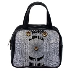 Gold And Silver Is The Way Classic Handbags (one Side)