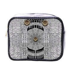 Gold And Silver Is The Way Mini Toiletries Bags