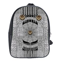 Gold And Silver Is The Way School Bags (XL)