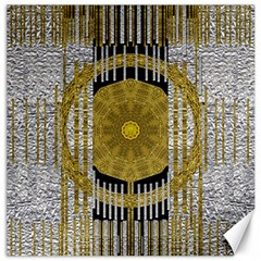 Silver And Gold Is The Way To Luck Canvas 20  x 20