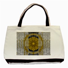 Silver And Gold Is The Way To Luck Basic Tote Bag (two Sides)
