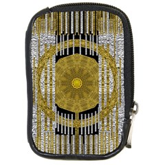 Silver And Gold Is The Way To Luck Compact Camera Cases