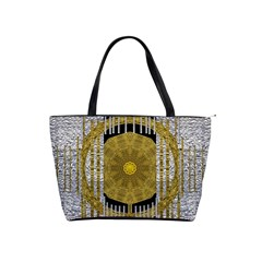 Silver And Gold Is The Way To Luck Shoulder Handbags