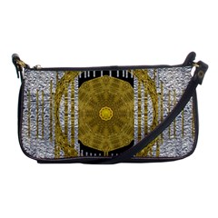 Silver And Gold Is The Way To Luck Shoulder Clutch Bags