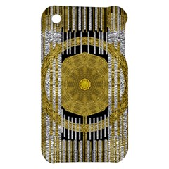 Silver And Gold Is The Way To Luck Apple iPhone 3G/3GS Hardshell Case