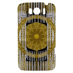 Silver And Gold Is The Way To Luck HTC Sensation XL Hardshell Case