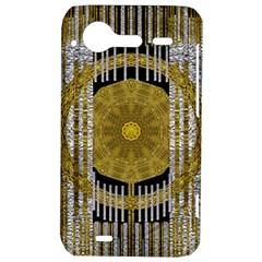 Silver And Gold Is The Way To Luck HTC Incredible S Hardshell Case