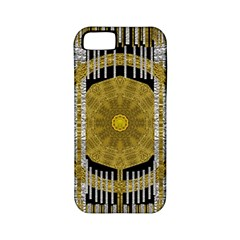 Silver And Gold Is The Way To Luck Apple Iphone 5 Classic Hardshell Case (pc+silicone)