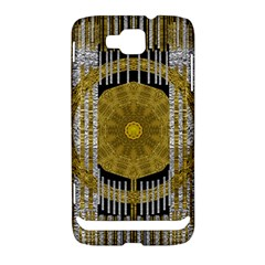 Silver And Gold Is The Way To Luck Samsung Ativ S i8750 Hardshell Case