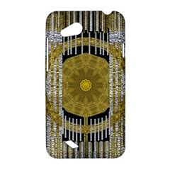 Silver And Gold Is The Way To Luck HTC Desire VC (T328D) Hardshell Case