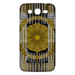 Silver And Gold Is The Way To Luck Samsung Galaxy Mega 5.8 I9152 Hardshell Case