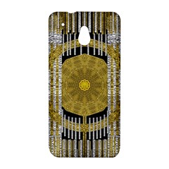 Silver And Gold Is The Way To Luck HTC One Mini (601e) M4 Hardshell Case