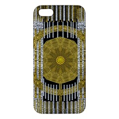 Silver And Gold Is The Way To Luck Iphone 5s/ Se Premium Hardshell Case