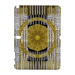 Silver And Gold Is The Way To Luck Samsung Galaxy Note 10.1 (P600) Hardshell Case