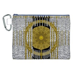 Silver And Gold Is The Way To Luck Canvas Cosmetic Bag (XXL)