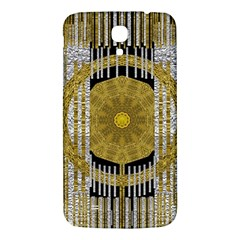Silver And Gold Is The Way To Luck Samsung Galaxy Mega I9200 Hardshell Back Case