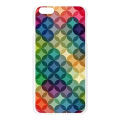 Abstract Colorful Geometric Pattern Apple Seamless iPhone 6 Plus/6S Plus Case (Transparent)