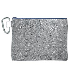 Abstract Flowing And Moving Liquid Metal Canvas Cosmetic Bag (XL)