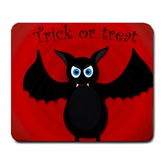 Halloween bat Large Mousepads