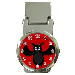 Halloween bat Money Clip Watches