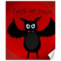 Halloween bat Canvas 8  x 10