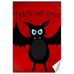 Halloween bat Canvas 20  x 30