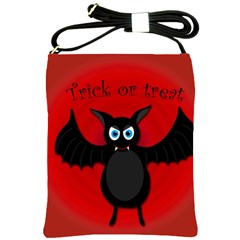 Halloween bat Shoulder Sling Bags