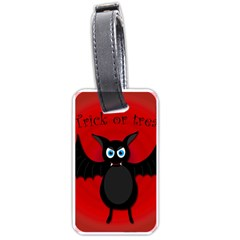 Halloween bat Luggage Tags (Two Sides)