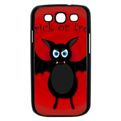 Halloween bat Samsung Galaxy S III Case (Black)