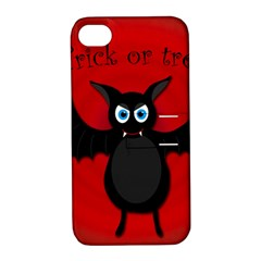 Halloween bat Apple iPhone 4/4S Hardshell Case with Stand