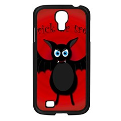 Halloween bat Samsung Galaxy S4 I9500/ I9505 Case (Black)