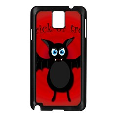 Halloween bat Samsung Galaxy Note 3 N9005 Case (Black)