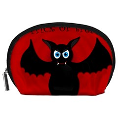 Halloween bat Accessory Pouches (Large)