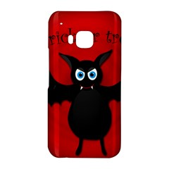 Halloween bat HTC One M9 Hardshell Case