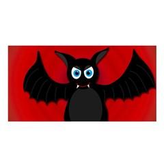 Halloween bat Satin Shawl