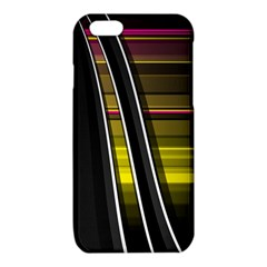 Abstract Multicolor Vectors Flow Lines Graphics iPhone 6/6S TPU Case