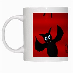 Halloween bats  White Mugs