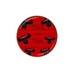 Halloween bats  Hat Clip Ball Marker (4 pack)