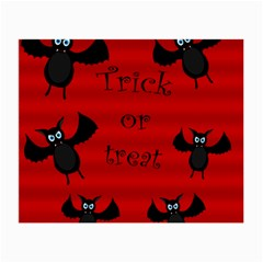 Halloween bats  Small Glasses Cloth