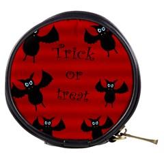 Halloween bats  Mini Makeup Bags