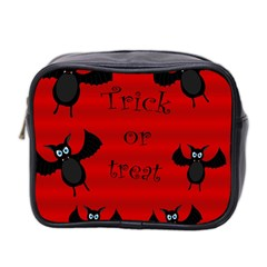 Halloween bats  Mini Toiletries Bag 2-Side